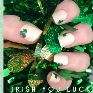 2/$20 color street nails irish you luck shamrock